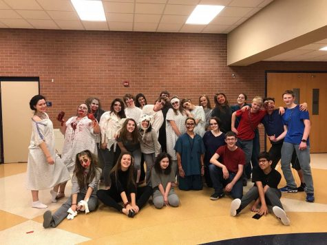 Thespians have fun in the theatre: 24 hour play edition