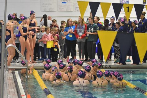 Girls swimmers prove themselves this season