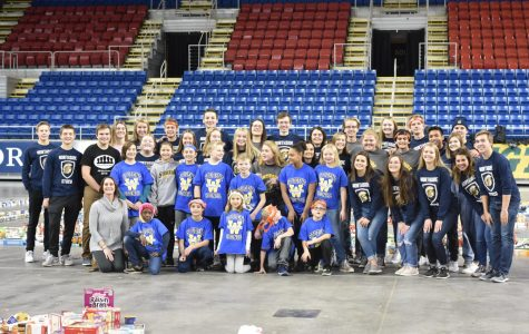 Fargo North StuCo helps Fill the Dome