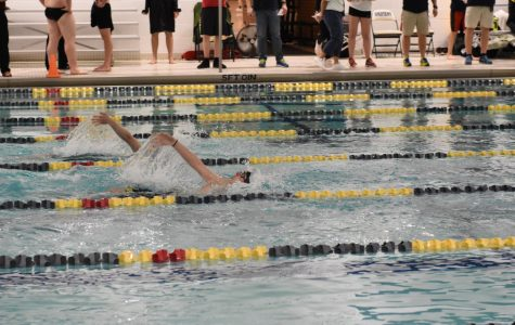 Spartan boy's swimming gets ready for state and EDC with last home meet