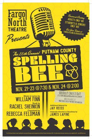"Fargo North will performed  ""The 25th Annual Putnam County Spelling Bee"" Nov. 21-24. Get your tickets today!"