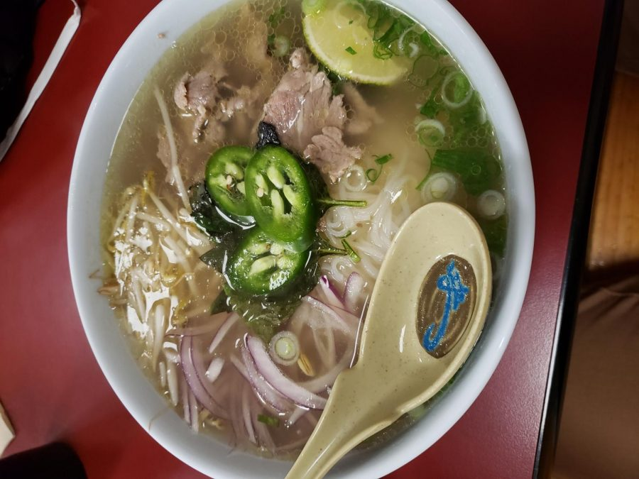Delicious+bowl+of+steak+pho+from+Slurp+on+Broadway.