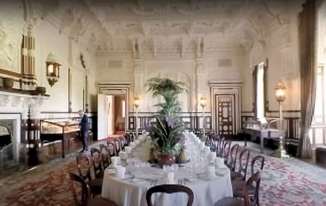 A capture from an interactive video tour of Queen Victoria's Indian-inspired Durbar room.