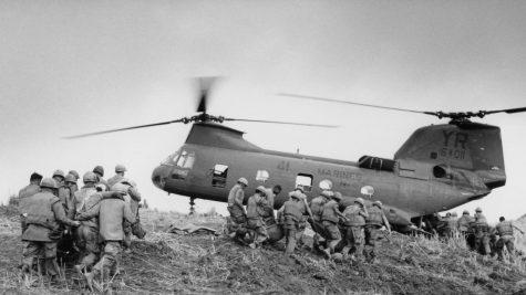 Soldiers in the Vietnam War.
