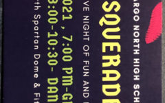 On the back side of the ticket, you will see your time to be at Grand March, based on your order.