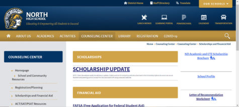 Under Counseling Center is where you can find almost all of the scholarships in the Fargo area.