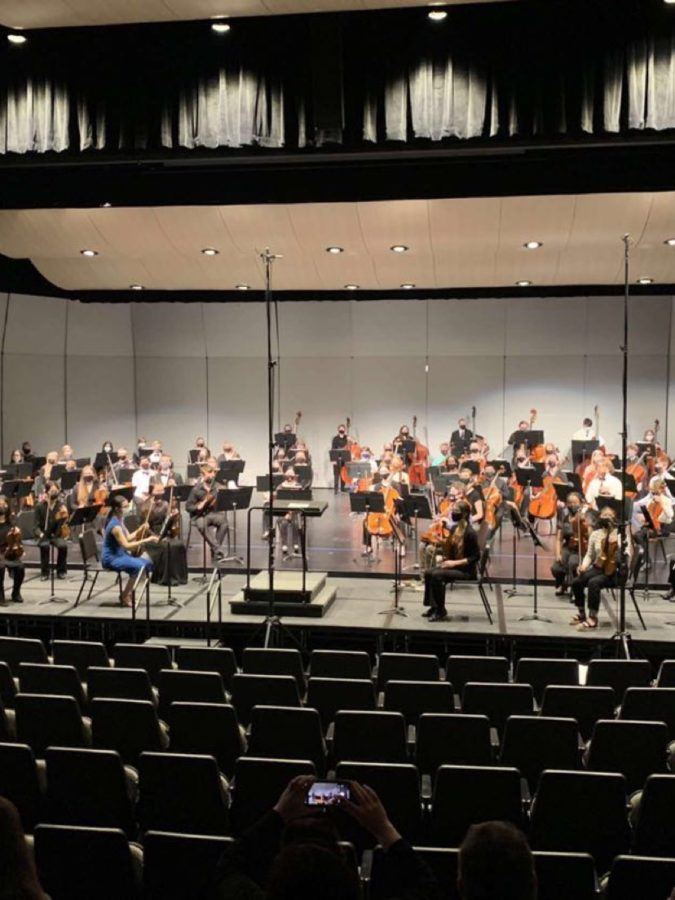 The+ND+All-State+Orchestra+rehearsing